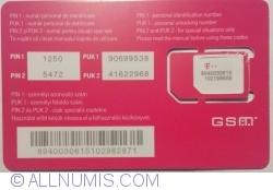 Telekom - Cartela 4 G