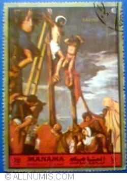 Image #1 of 1.50 Fils 1972 - Easter crucifix