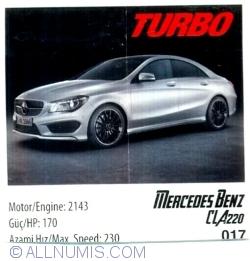 Imaginea #1 a 017 - Mercedes Benz CLA220