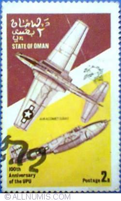Image #1 of 2 b 1974 - 100 th Anniversary of the UPU - Air Acomet (U.S.A.)