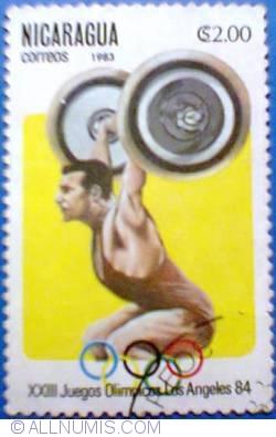 Image #1 of 2 Centavos 1983 - XXIII Juegos Olimpicos Los Angeles 84