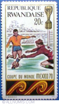 Image #1 of 20 c 1970 - Mexico FIFA World Cup
