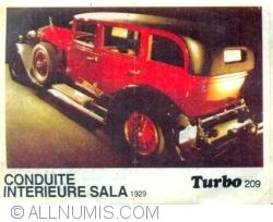 Image #1 of 209 - Conduite Interieure Sala 1929