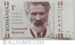 Image #1 of 1 Leu 2016 - Constantin Brâncuși (1876 - 1957)