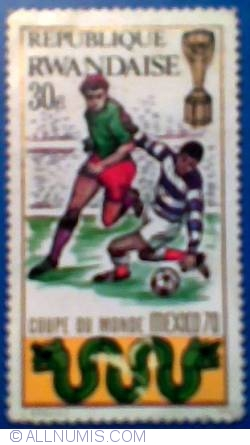 Image #1 of 30 c 1970 - Mexico FIFA World Cup