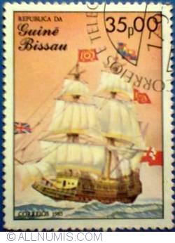 35 pesos 1985 - Royal Sovereign
