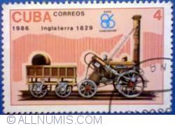 Image #1 of 4 pesos 1986 - Inglaterra 1829
