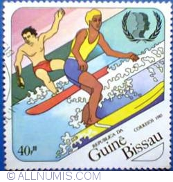 Imaginea #1 a 40 pesos 1985 - International Youth Year - Surf