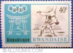 Image #1 of 40 c 1968 - O.G. Tokyo 1964 - Judo