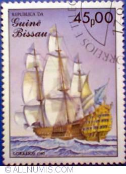 45 pesos 1985 - Soleil Royal