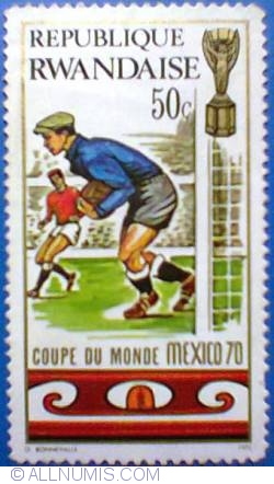 Image #1 of 50 c 1970 - Mexico FIFA World Cup