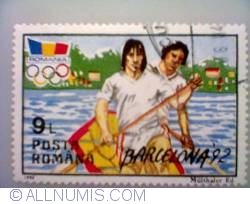 9 lei 1992 - Kaiac - canoe