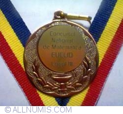 Euclid Mathematics National Competition - Third Place