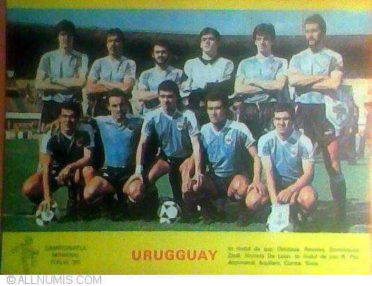Cartea poștală Uruguay la Campionatul Mondial de Fotbal ...