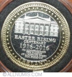 Imaginea #1 a Irish Easter Rising Centenary Coin 1916-2016
