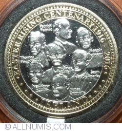 Imaginea #2 a Irish Easter Rising Centenary Coin 1916-2016