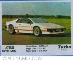 Image #1 of 111 - Lotus Esprit Turbo