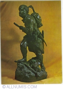 """""""The Foot Soldier"""". Sulpture by  Ferrari"""