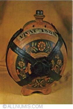 "Image #1 of Flusk from Transylvania bearing the inscription: ""Vivat  1859"""