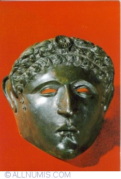 Image #1 of Mask of a parade helmet; Hîrșova, Constanța caunty, 2 nd. c.A.D.