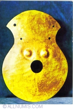 Image #1 of The great gold idol or the Moigrad tresaure, Sălaj county; the 4th mil. B.C.