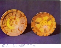 Image #1 of Glazed plates found at Basarabi, Dolj county, 14th Century