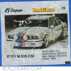 78 - BMW M 635 CSI