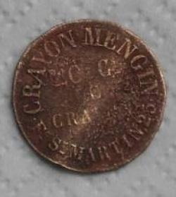 Image #2 of CRAYON MENGIN 20 centimes