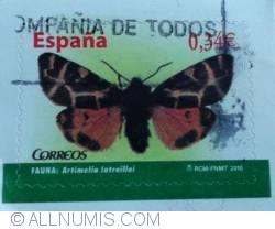Image #1 of 0.34 € - Fauna: Artimelia Latreillei