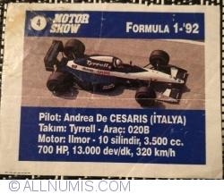 Image #1 of 4 - Andrea De Cesaris - Tyrrell