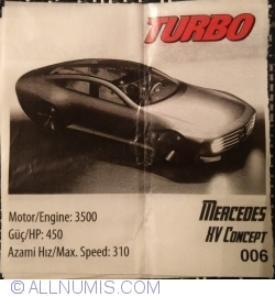 Imaginea #1 a 006 - Mercedes XV Concept