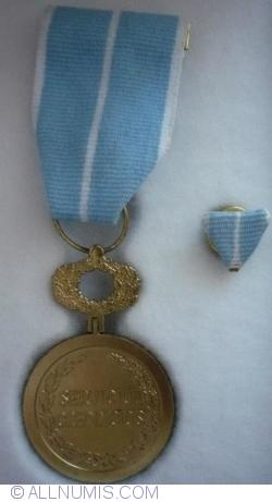 Medalia Naţională Serviciul Credincios clasa a III-a