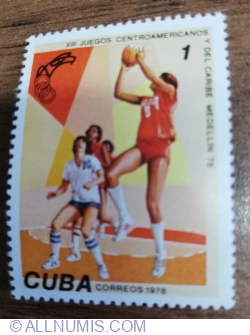 Image #1 of 1 Centavo 1978 - Sport - Baschet