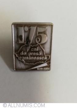 175 de ani de presă românească