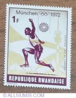 Image #1 of 1 Franc 1972 - Jocurile Olimpice - Salt în lungime