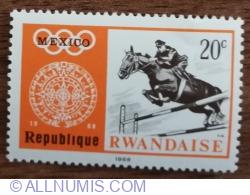 Image #1 of 20 Santime 1968 - Jocurile Olimpice de vară 1968, Mexic - Echitație