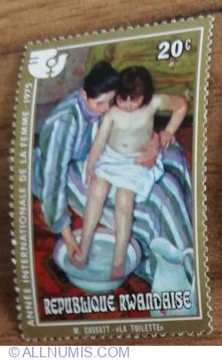 Image #1 of 20 Santime 1975 - Anul internațional al femeii - toaleta