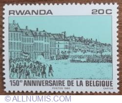 Image #1 of 20 Santime 1980 - A 150-a aniversare a independenței belgiene
