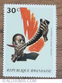 Image #1 of 30 Santime 1973 - Instrumente muzicale din Africa Centrală și de Vest