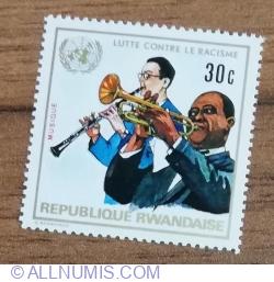 Image #1 of 30 Santime 1972 - Anti rasism - Muzică