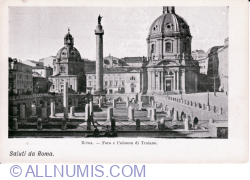 The Roman Forum and Trajan's Column (Foro e Collona di Traianno)