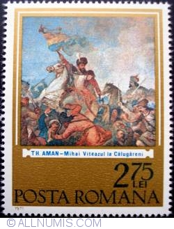 Image #1 of 2.75 Lei - Mihai Viteazul la Calugareni - Theodor Aman