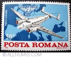Imaginea #1 a 50 Bani - Lockheed L-14