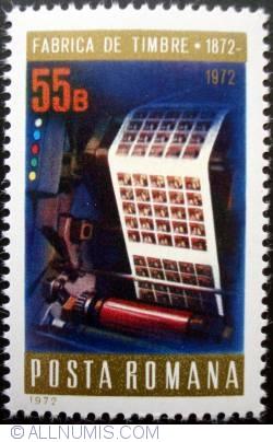 Imaginea #1 a 55 Bani - Imprimarea timbrelor