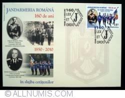 Romanian Gendarmerie - 160 years