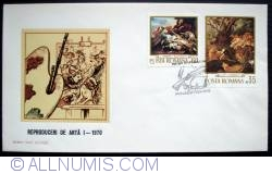 Art reproductions I - Hunting Scene