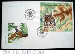 Image #1 of Semicentenary Retezat National Park (perforated souvenir sheet)