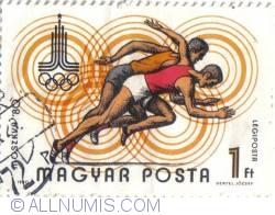 1 Ft Olimpiada Moscova 1980 Atletism - Ungaria 1980