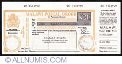 Image #1 of 20 Kwacha 1996