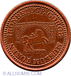 Farthing-Iron Bridge Gorge Museum Token
